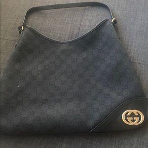 Black Gucci purse